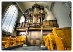 Bader-orgel  (1653) in de Salviuskerk Dronrijp (PortSite) Tags: holland church netherlands nikon nederland kirchen glise paysbas kerk hdr friesland architectuur portsite d3s