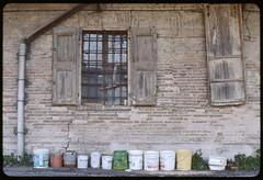 (giovanegian) Tags: autumn italy window bucket quiet pentax kodak tranquility calm silence kodachrome modena presence expiredfilm mesuper absence kr64 smcpentaxfa11450mm