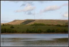 Rivington Reservoir and Winter Hill (Zippy's Revenge) Tags: television countryside country reservoir lancashire rivington mast transmission transmitter winterhill westpenninemoors westpennines