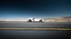 Knight in White Satin (Folk|Photography) Tags: white italia angle nevada wide pass ferrari monitor mclaren supercar 2012 458 worldcars mp412c