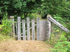 Historic Yale 08 (SqueakyMarmot) Tags: travel summer canada wooden gate bc britishcolumbia roadtrip highway1 yale transcanadahighway 2012 frasercanyon goldrushtrail cariboowagonroad
