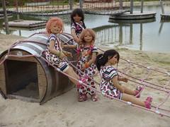 Strandkinder (Kindergartenkinder) Tags: dolls sommer kindra tivi setina annettehimstedt kindergartenkinder himstedtkinder sanrike naturbadolfen