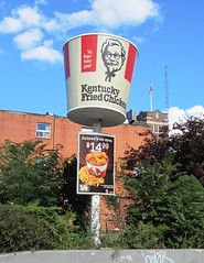 KFC Bucket Sign (Sean_Marshall) Tags: toronto ontario sign kfc kentuckyfriedchicken stclairavenue