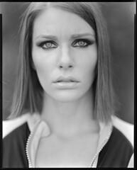 Alex (Braca Nadezdic) Tags: portrait bw white black girl largeformat sinar