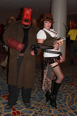 IMG_4649 (bazooked1) Tags: atlanta boy woman female costume dragon cosplay hell hellboy con dragoncon 2012