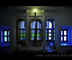 14 Window | Rajasthan (Ritesh Maity Photography) Tags: travel windows colors photography lights design nikon interior ngc palace stonecarvings rajasthan woodcraft unseenindia