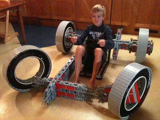 LEGO 無極限!玩家自製真的能跑的Go-Kart!
