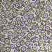 Vintage sheet - purple/green floral