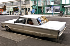 1966 Plymouth Belvedere (Curtis Gregory Perry) Tags: auto old original usa white classic car oregon sedan vintage portland nikon automobile unitedstates united plymouth 1966 66 northamerica belvedere motor states xe d300 automobil  2door       hi