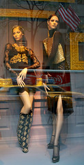 Saks: Framed, Sultry 2 (Viridia) Tags: nyc newyorkcity urban newyork mannequin fashion reflections frames mannequins dress manhattan nightshoot dresses fifthavenue saksfifthavenue saks storewindows newyorkny summerfall dolcegabbana windowdisplays newyorkcityny 5thavenuenyc sakscompany midtownnyc saksfifthavenuewindows rootsteinmannequins saksfifthavenuewindowdisplay saksfifthavenueflagshipstore saksfifthavenuewindowdisplays
