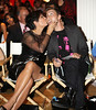 Kris Jenner kisses Lance Bass Mercedes-Benz New York Fashion Week Spring/Summer 2013 - Tumbler and Tipsy - Runway New York City, USA
