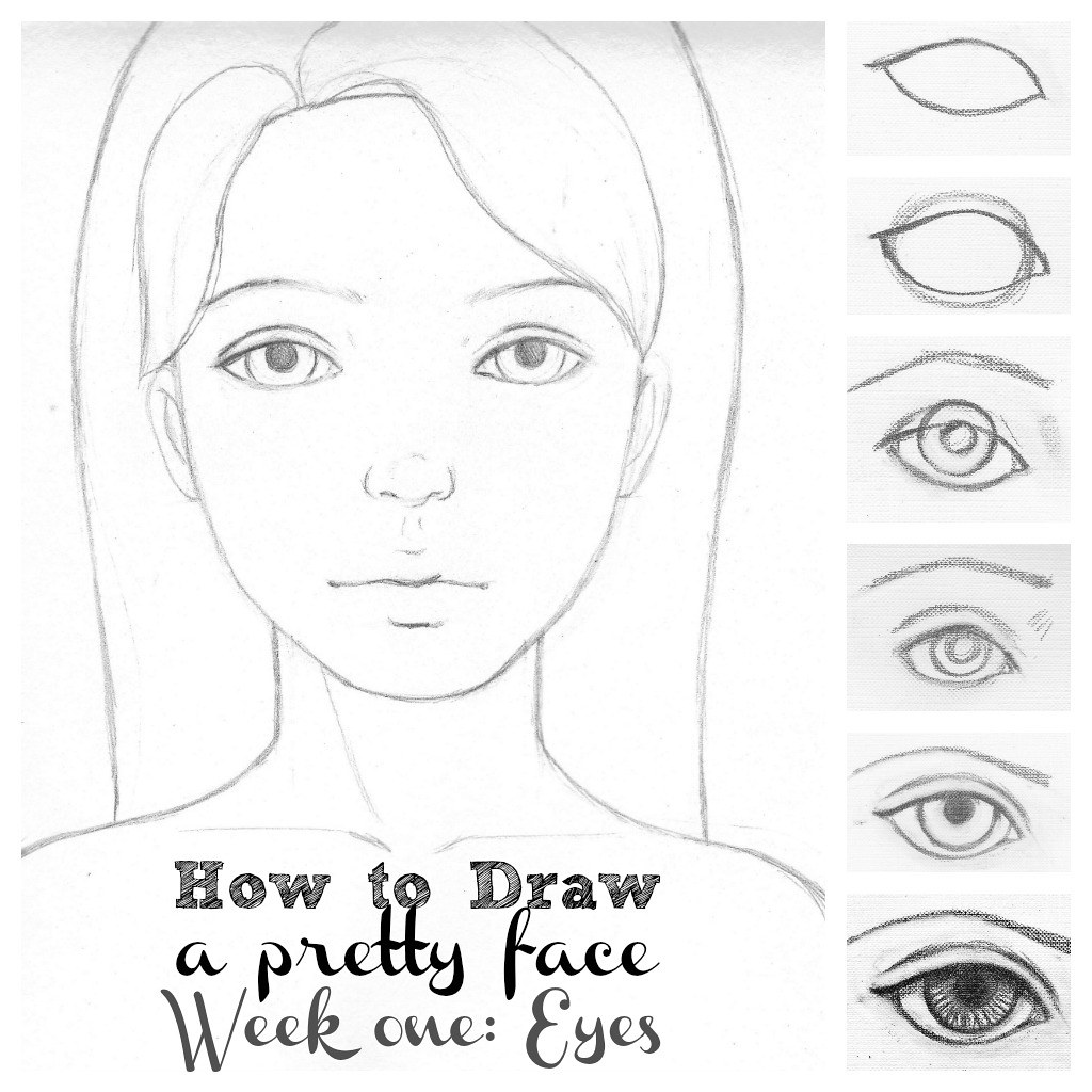 How To Draw Eyes In 7 Easy Steps (kat Can Paint) Tags: Girl