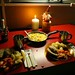Nossa Ceia de Natal: omelete com pao