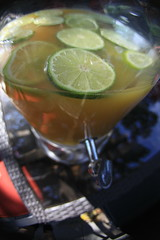 lime and pineapple ginger ale (Maicdlphin) Tags: party fisheye pineapple punch lime gingerale