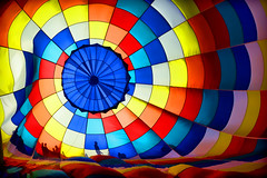 Balloon Interior (Dit49) Tags: california abstract balloons hotairballoon backlighting ripon colortheskies nikond800 topazsimplify