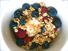 04 berries breakfast (Stephanie M. Casey) Tags: breakfast greek yogurt fage
