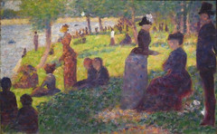 Seurat, Study for A Sunday on La Grande Jatte—1884