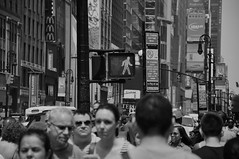 NYC crowd (reflexbeginner) Tags: sanfrancisco nyc bw usa newyork nature america landscape nationalpark nikon honeymoon unitedstates nikkor viaggiodinozze statiuniti d90 wonderfulview