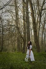 She (li4fotografia) Tags: wild forest green trees sky