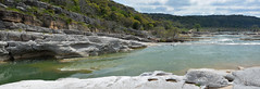 Johnson City - The Wide Pedernales Riverbed (Drriss & Marrionn) Tags: blancocounty texas usa outdoor pedernales park pedernalesfallsstatepark johnsoncity river falls limestone hike swimming camping horseriding biking sports trails hiking landscape waterside rock rockformation riverbed watercourse water riverside