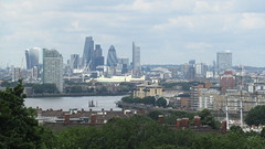 View from Greenwich (Londrina92) Tags: london londra city greenwich view panorama landscape thames tamigi hilly outdoor skyline building gherkin gratecheese walkietalkie
