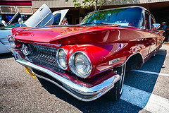 1960 Buick Invicta at Tawas (hz536n/George Thomas) Tags: 2015 audrey buick cs5 canon canon5d ef1740mmf4lusm georgie hdr invicta michigan summer tawas carshow copyright nik upnorth