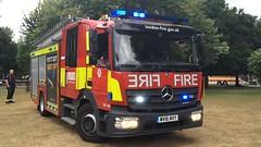 BRAND NEW LFB Appliance (slinkierbus268) Tags: london fire brigade lfb brand new mercedes fireengine fireappliance bluelights central fireandrescue emergency one