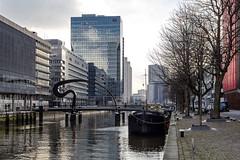 Scheepmakershaven (R. Engelsman) Tags: architecture skyline building water waterfront bridge ibisbrug scheepmakershaven rotterdam 010 netherlands outdoor cityscape rotjeknor nederland holland