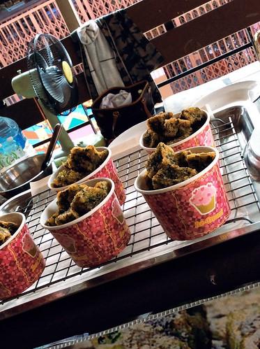 Street Food (This is not ice cream.) at Plern Warn, Hua Hin, Thailand