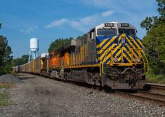 What a Perfect Time For Breakfast... (Joseph Bishop) Tags: crex 1325 gevo ge es44ac conneaut ohio csxt trains train track tracks railfan railroad railway rail rails
