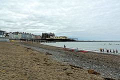 Aberystwth Beach (diedintragedy) Tags: aberwystwth ceregion beach sea landscape seascape welshcoast coast wales sand water hills building promenade