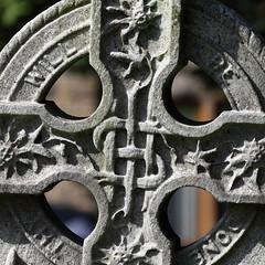 Celtic cross (davewebster14) Tags: memorial stanley celticcross gravestone standrew