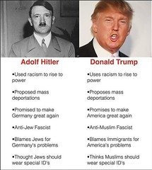 Donald Trump (Renegade98) Tags: donaldtrump adolfhitler hitler fascism aristocrats fascists totalitarian authoritarian hillaryclinton
