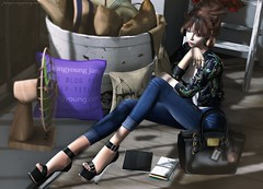 021. Daydreaming (Jangsungyoung Resident) Tags: blueberry ison foxes monso phedora mandala maitreya luxebox bonvoyage kustom9 collabor88 c88 secondlife shopping events luxeboxlady