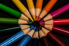 Just the Tip (Geoff Blondahl) Tags: project365 nikon d810 500 color colour pencilcrayon rainbow explored