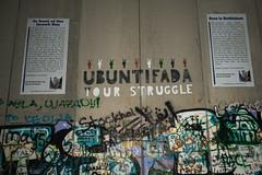 UBUNTIFADA (stefanos-) Tags: travelling backpacking palestine holyland christianity wall graffiti nazareth jesus bethlehem westbank