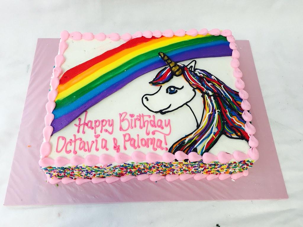 Rainbow Amp Unicorn Sheet Cake Tasteoflovebakery Tags