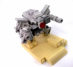 Desert Mech (chubbybots) Tags: mech lego moc