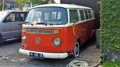 another old VW in Bali... (SqueakyMarmot) Tags: travel asia indonesia bali 2016 seminyak vw bus
