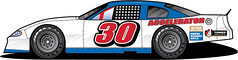 Stock Car Art (M-D Building Products) Tags: md building products