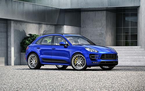Porsche Macan Turbo от SCMIDT Revolution