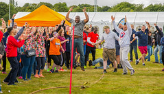 And The Winners Of The Its A Knockout Tug-Of -War Are (williamrandle) Tags: tugofwar wolverhampton westmidlands uk england summer games sport dunstallpark joy happy winners outdoor nikon d7100 tamron2470f28vc