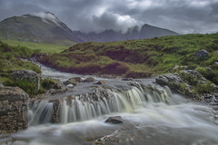 Coire Lagan, Isle of Skye, Scotland (erwinberrier) Tags: coirelagan scotishhighlands skye scotish isleofskye waterfall glenbrittle mountains ngc
