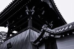 -- (m-miki) Tags: nikon d610 japan kyoto temple      bw