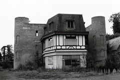 Failed hotel development, Naas, Ireland (Kevin Plankton) Tags: olympusom4 bw 400 ireland kildare