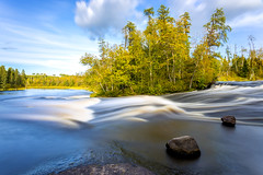 Pine Point Rapids (Nelepl) Tags: manitoba canada whiteshell outdoors fall autumn rapids river foliage countryside travel hiking adventure water sport fast waterfall scenery