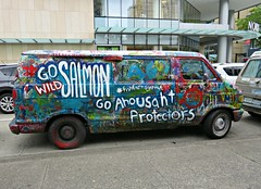 Go Wild (knightbefore_99) Tags: salmon extinct rape ocean sea overfishing native indian fight resist protest bc canada west coast van go wild