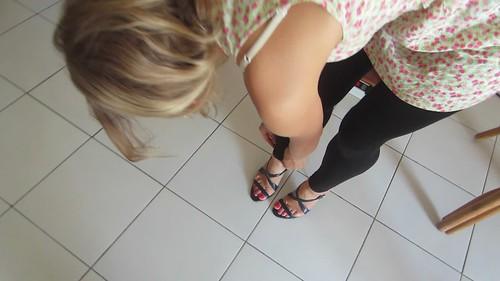 Belgian toes art soles size 7