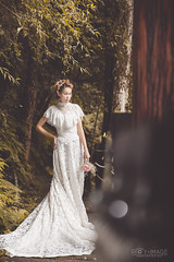 / foggy forest ( Roy Image) Tags:         fantasy glamour beautiful classical fog forest weddingdress  girl  foggy