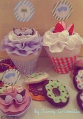 Doces de feltro para uma festa caramelada (Funny Amandita) Tags: decoraçãofestainfantil docesdefeltro docesdecorativos docesornamentais